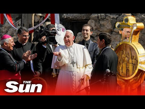 Live: Pope Francis visits Iraq on historical tour