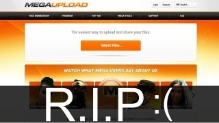 MEGAUPLOAD IS TAKEN DOWN!! (Maybe an early start of S.O.P.A / P.I.P.A ?)