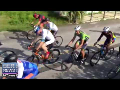 Start Of Bermuda Day Cycling Race, May 24 2016