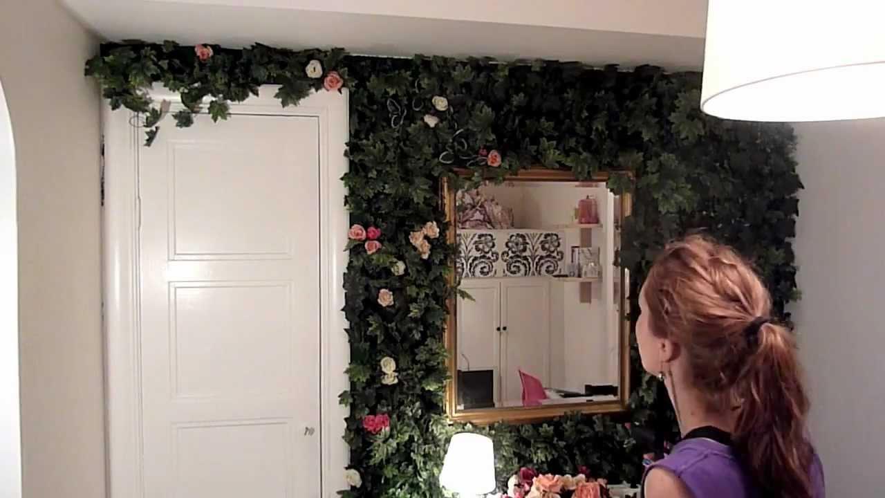 indoor rose garden