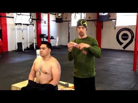 RockTape for the shoulders: Tutorial by Dr. Lance Robbins, RxChiro | CrossFit9, St. Pete, FL