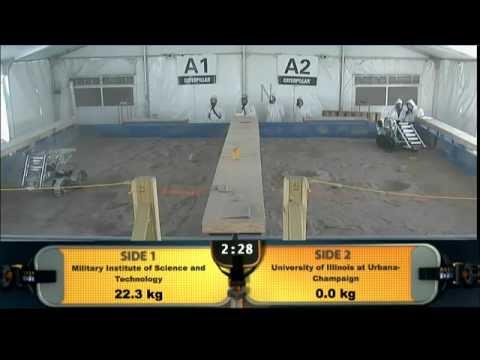 MIST at NASA Lunabotics/ Robotics Mining Competition 2013