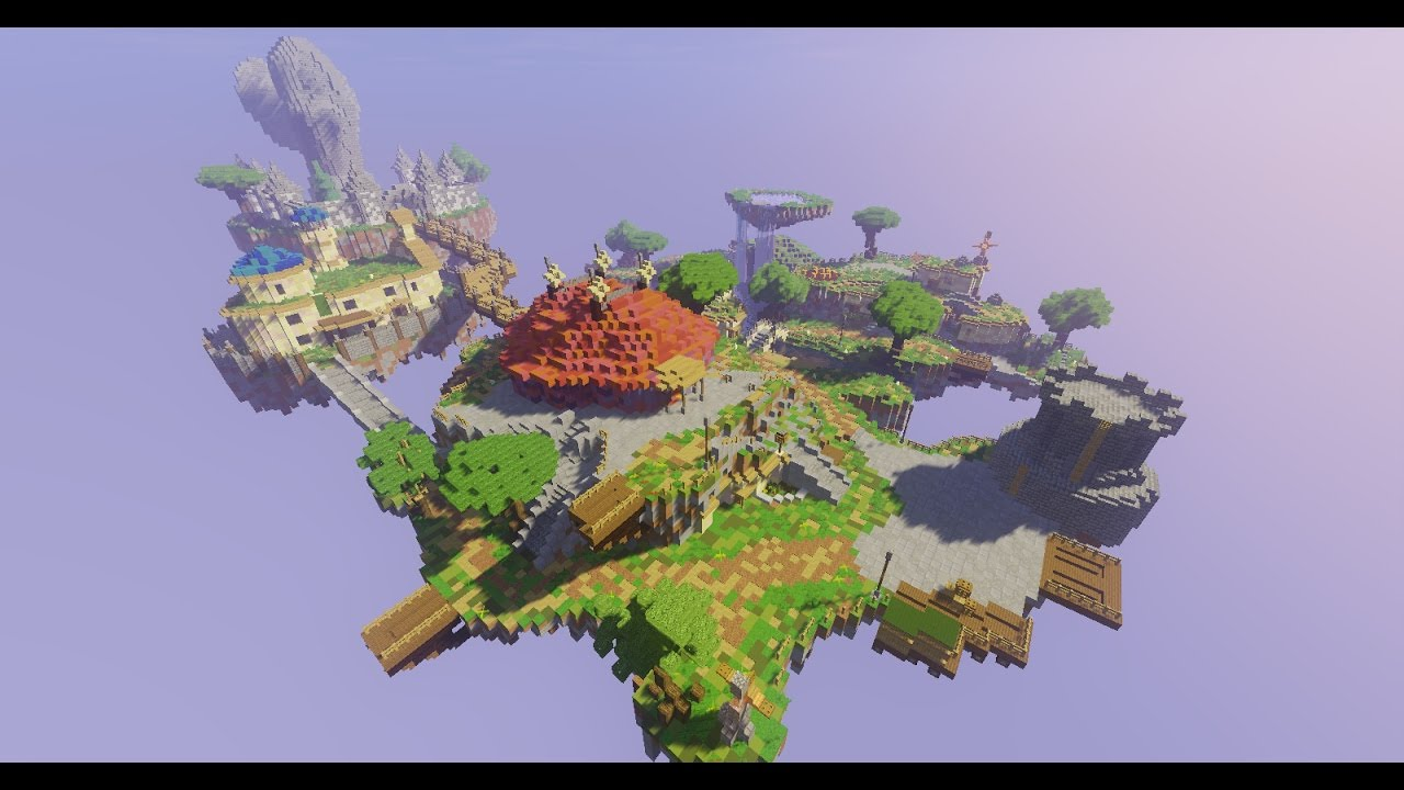 Skyward Sword Zelda Map Minecraft - YouTube