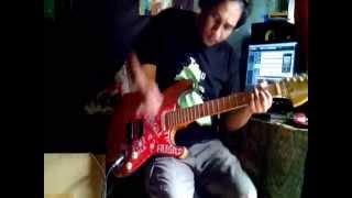 Gambar cover Foo Fighter - No Way Back guitar cover --May Rocknroll--