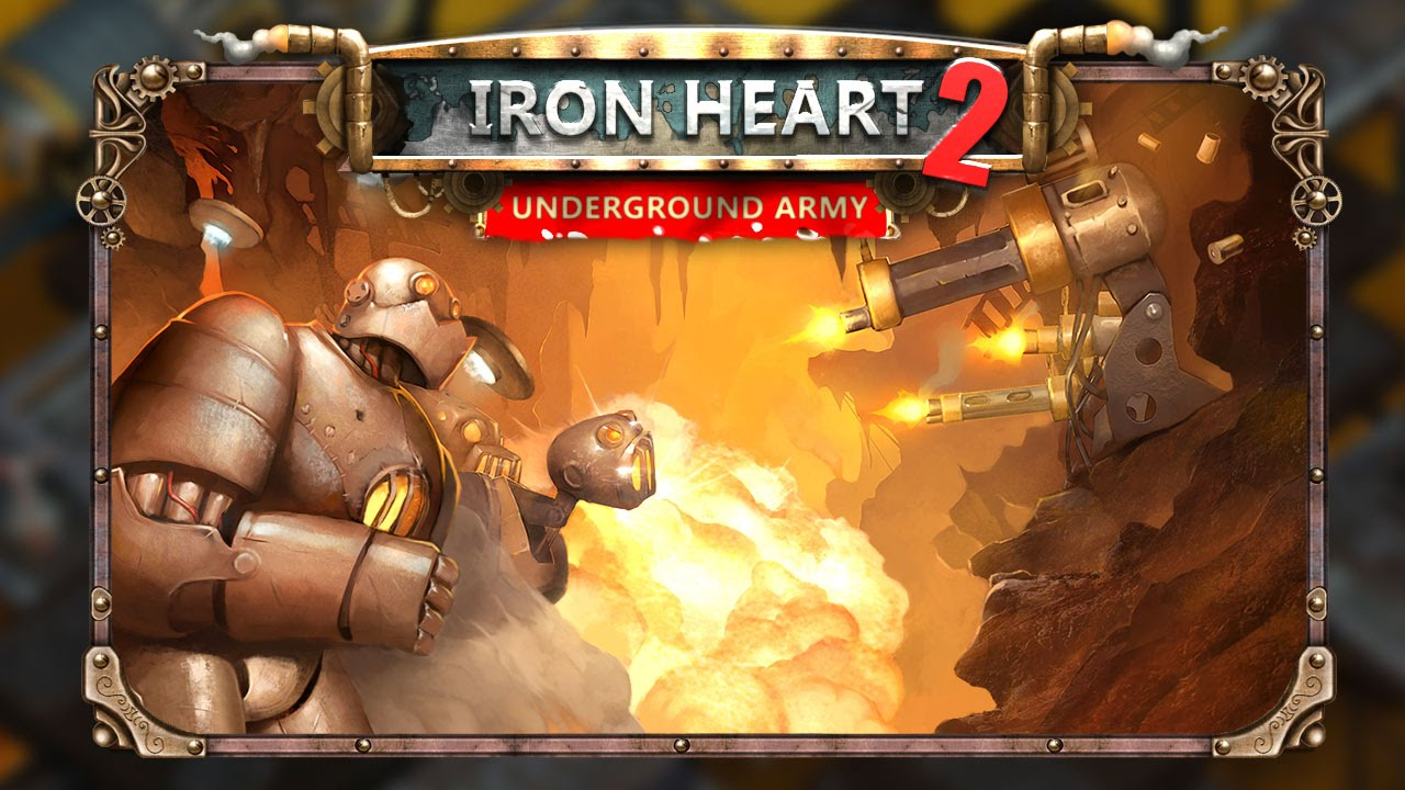 Iron Heart 2: Underground Army > iPad, iPhone, Android, Mac & PC