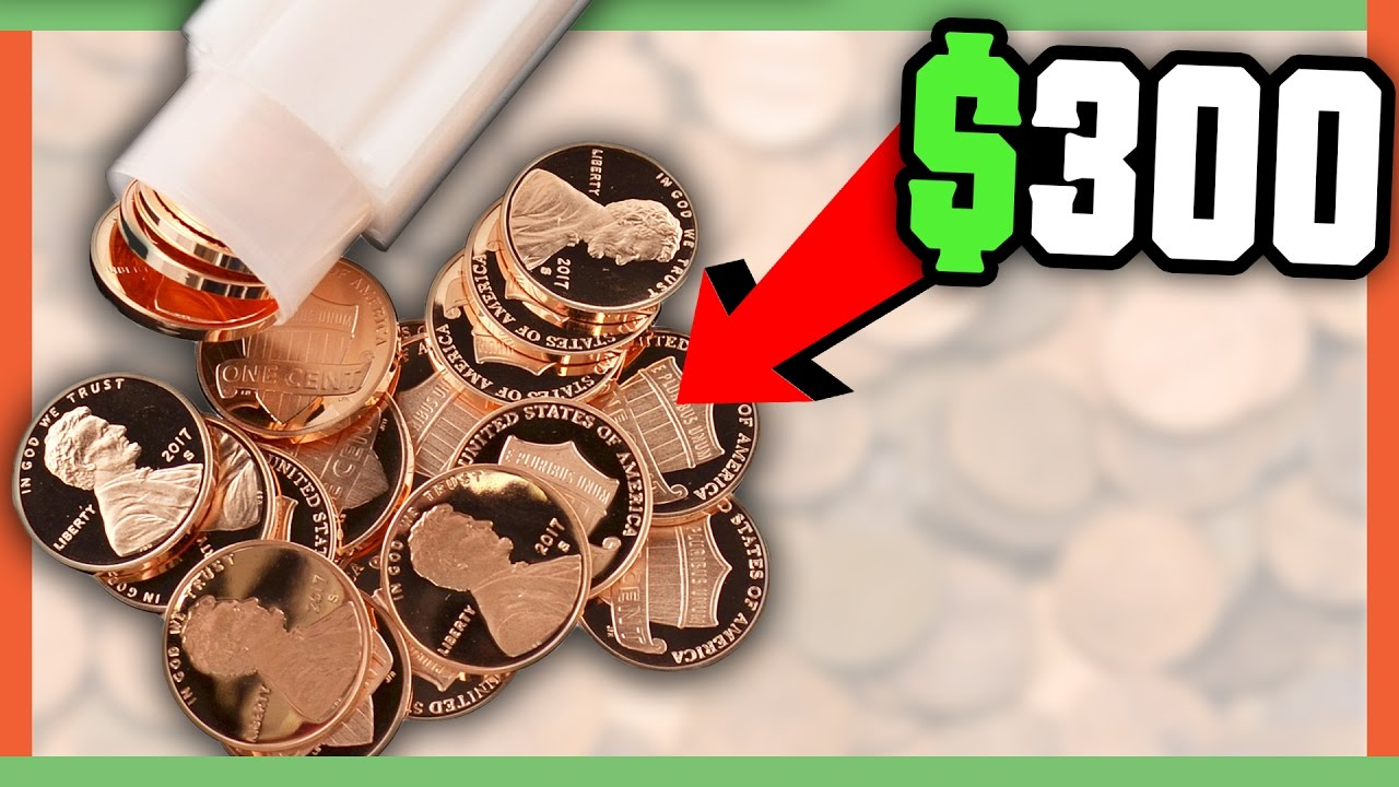 2017 PENNIES WORTH MONEY – COIN SEARCH FOR LINCOLN CENT PENNY!!