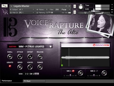 Soundiron Voice Of Rapture: The Alto  - solo alto vocal library walk-through