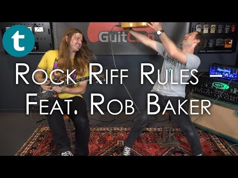 What makes an iconic Rock riff? | feat. Rob Baker | Lesson