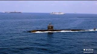 آتش سوزی در یک زیردریایی اتمی آمریکا