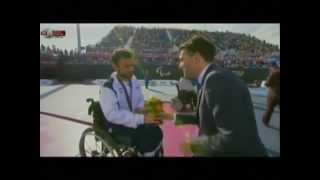 Injured Israeli Pilot Noam Gershony Wins GOLD at the 2012 Paralympic Games