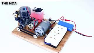 Chế tạo máy phát điện 220V tại nhà