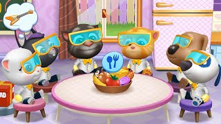 MY TALKING TOM FRIENDS 🐱 ANDROID GAMEPLAY #209 -TALKING TOM AND FRIENDS BY OUTFIT