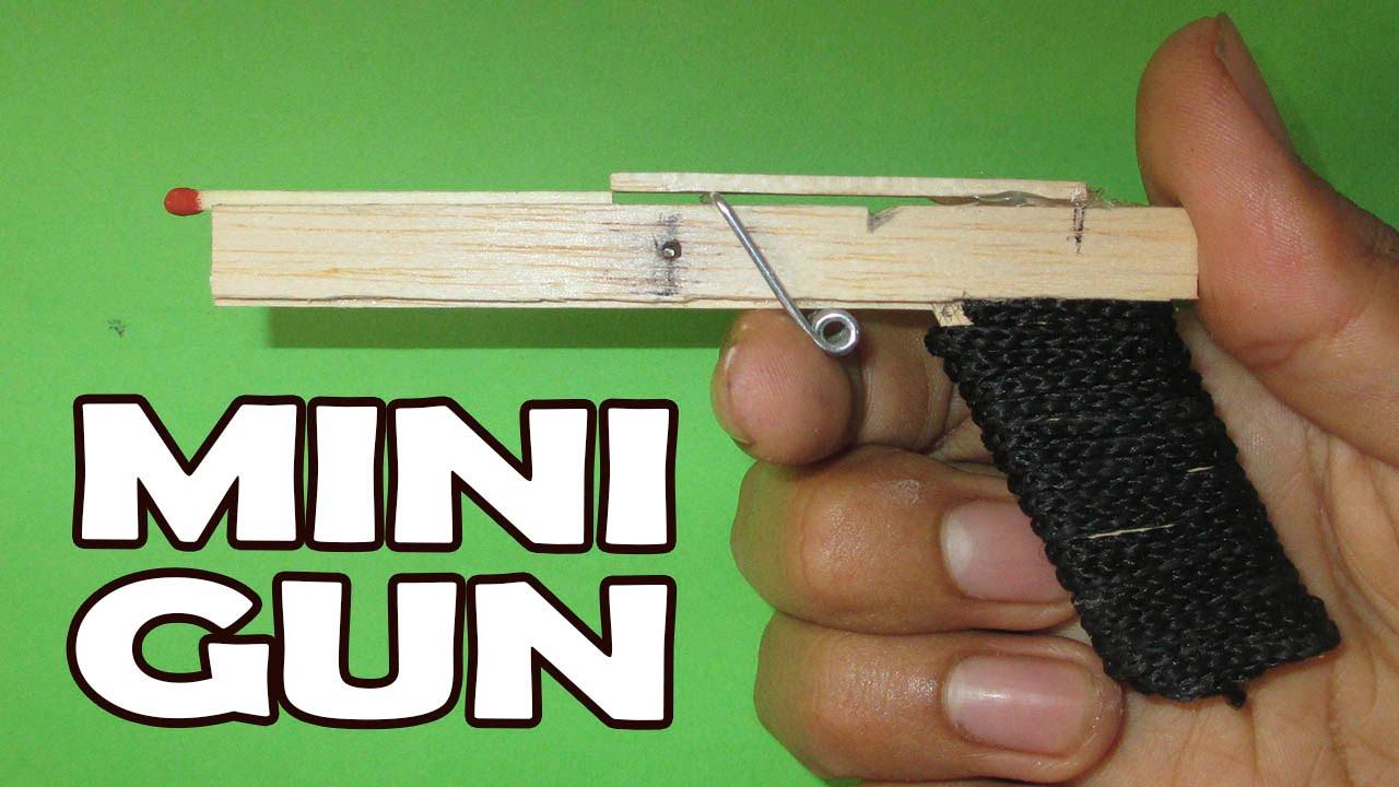 Como Hacer Una Mini Pistola Casera Fácil y Muy Potente│ARMAS ...