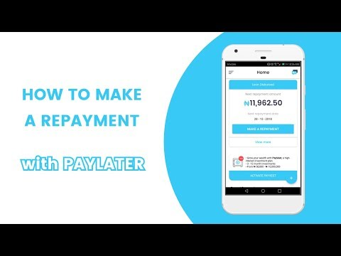 How to make a loan repayment    Steps by Paylater