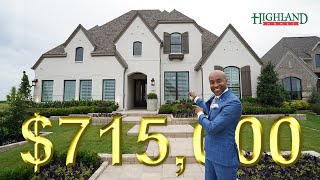 $715,000 LUXURY HOME FOR SALE | MUSTANG LAKES | CELINA TX | NORTH DALLAS