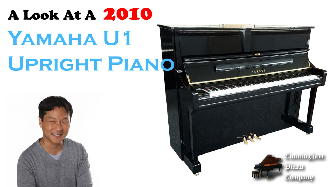 A look at a yamaha u1 upright piano made in 2010 youtube for Yamaha u1 professional upright piano