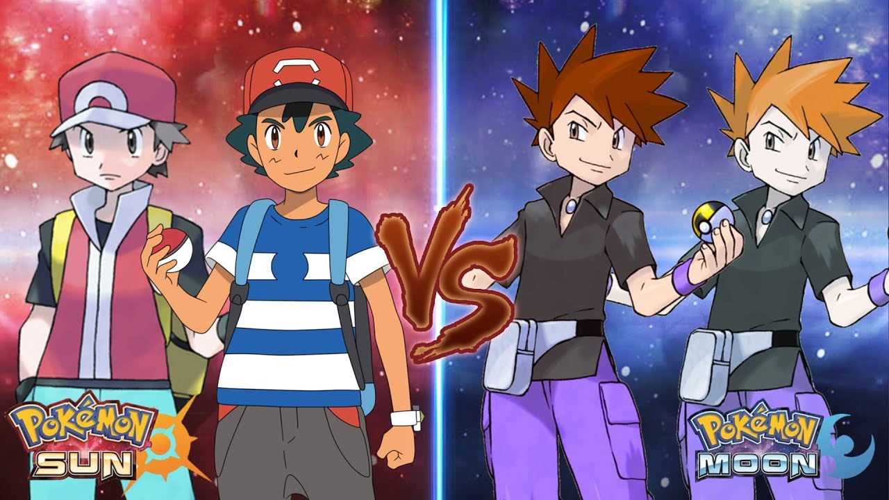 red vs blue sun and moon - photo #13