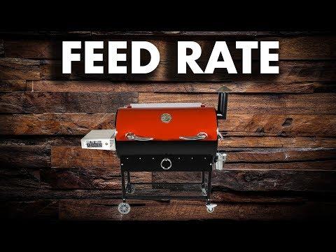 REC TEC Feed Rate Adjustment