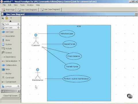 303a use case diagram for an atm youtube 303a use case diagram for an atm ccuart Choice Image