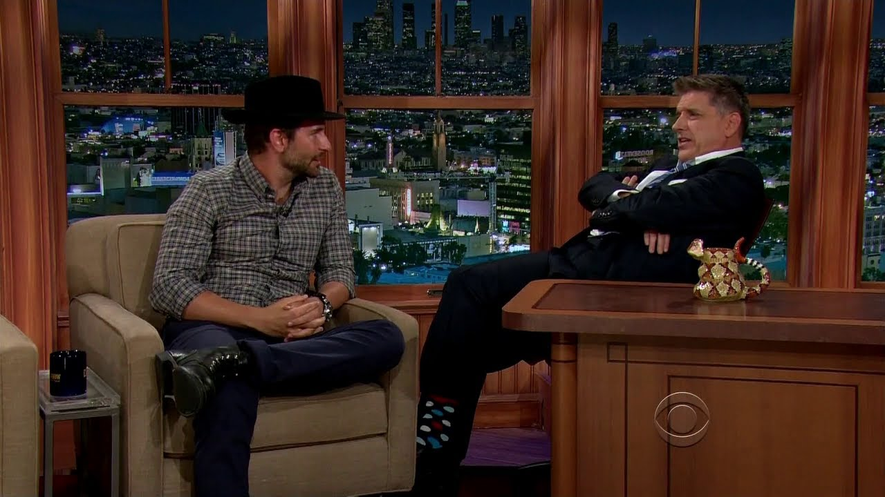 Late Late Show with Craig Ferguson 7/25/2014 Bradley Cooper, Lisa Joyce