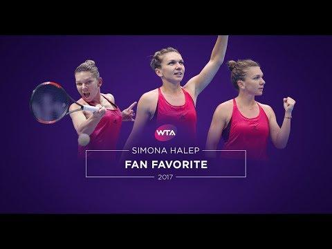 EVERYBODY loves Simona HALEP !!!  🎾 FANS 🎾 post-practice hugs, autographs & selfies 🐼 WTA tournament