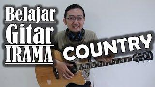 Belajar Gitar Irama COUNTRY