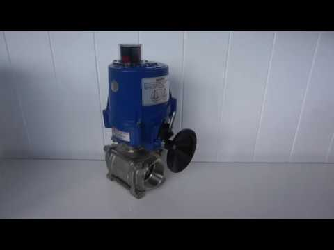 Stainless Steel Ball Valve Perth - Electric Actuated