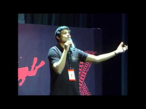 Co-Founder of Make A Difference: Jithin C Nedumala at TEDxSIBMBangalore