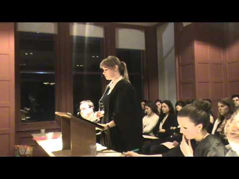 University of Reading Mooting Final 2012 (Part 2).