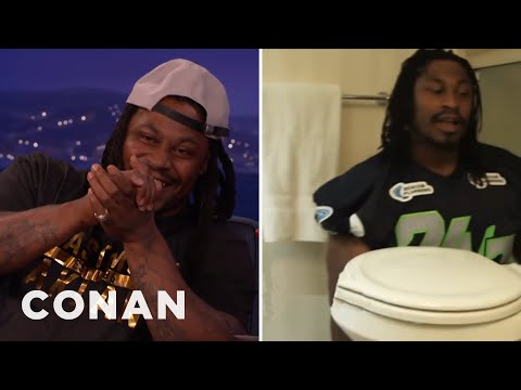 Marshawn Lynch's Local Plumbing Ad  - CONAN on TBS