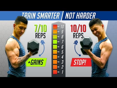 How Hard Should You Workout To Build Muscle? (AVOID THIS MISTAKE!)