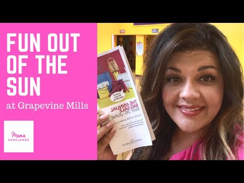 Fun out of the Sun with Grapevine Mills