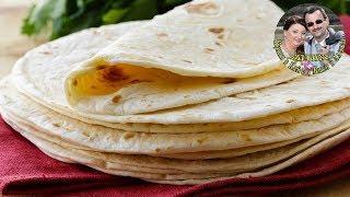 Тортилья или Мексиканские лепешки. Простой рецепт, но очень вкусно. Приготовьте