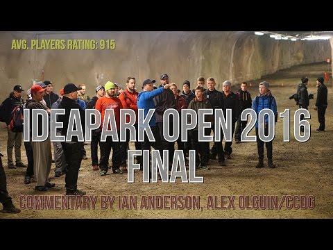 lcgm8 Disc Golf - Ideapark Open 2016 final