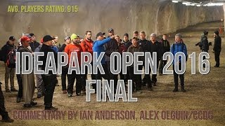 lcgm8 disc golf ideapark open 2016 final