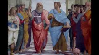 Raphael, School of Athens, fresco, 1509-1511 (Stanza della Segnatur...