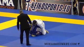 European Open 2014 Rafael Mendes Vs  Paulo Miyao