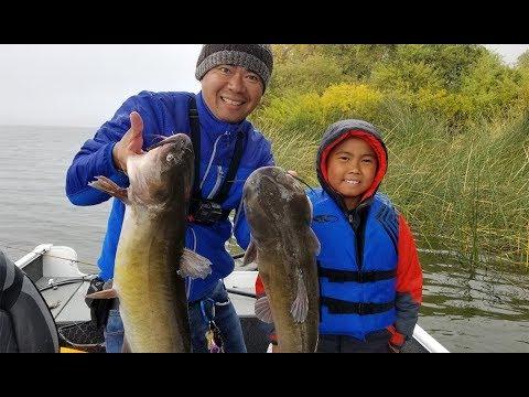 Fishing For Catfish - Clear Lake California