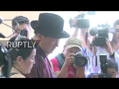Mongolia: Presidential candidates head to the polls on election day