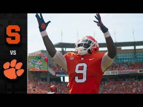 Syracuse vs. Clemson Football Highlights (2018)