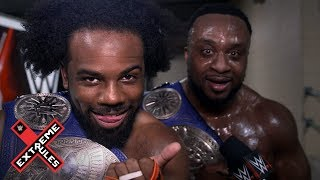 new-day-celebrate-becoming-six-time-champs-at-wwe-extreme-rules-wwe-exclusive-july-14-2019