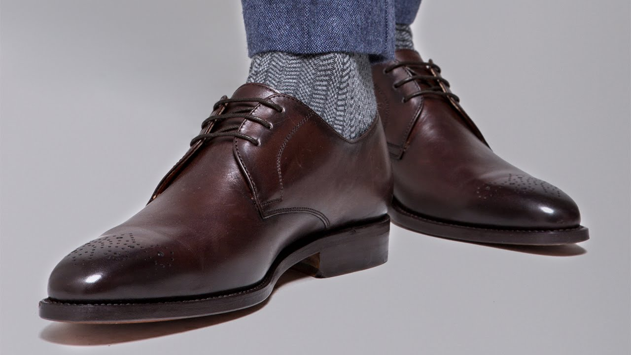 cc02f9c63 The Importance Of Good Shoes For Men - YouTube