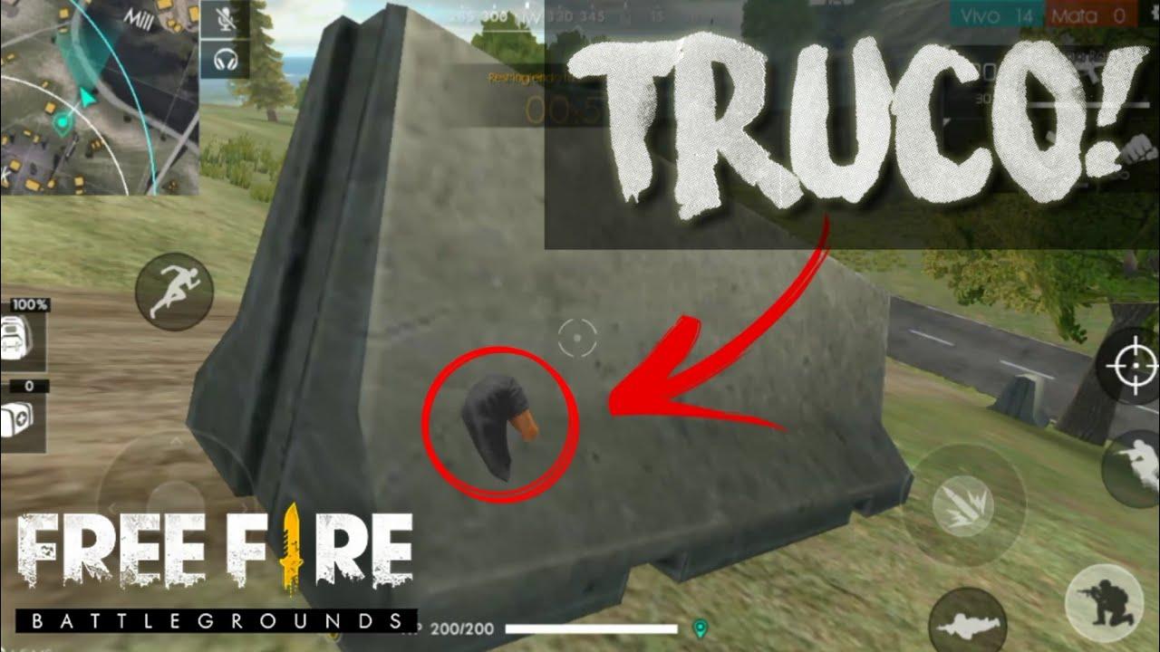 Truco Increible Para Esconderse Free Fire Battlegrounds Pubg De