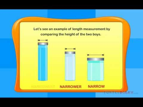 Measurement game - Length Measuring - YouTube