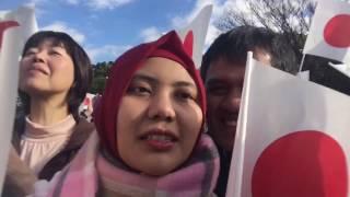 FulSa - Menghadiri Ulang Tahun Kaisar Jepang 2016