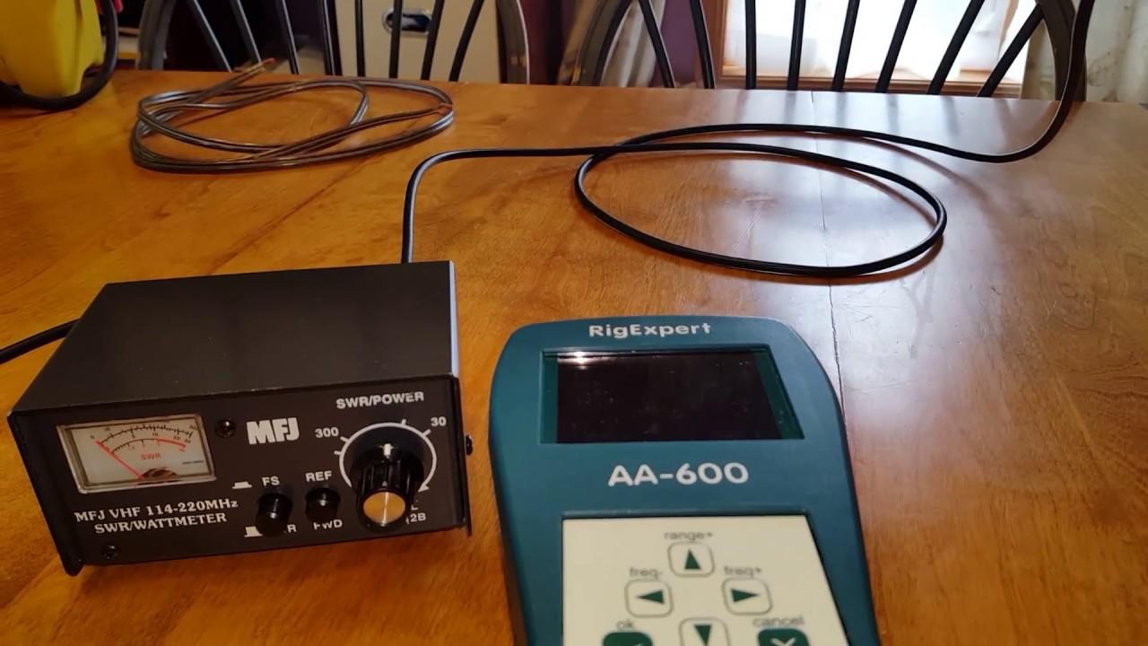MFJ 812B SWR, Watt Meter, and Field Meter