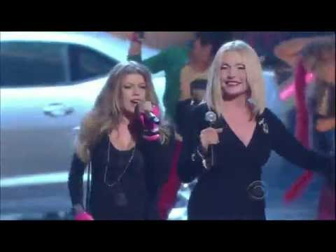 Debbie Harry & Fergie  Call Me  Live