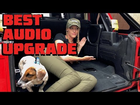 We Find the BEST AUDIO UPGRADE for the Jeep Wrangler (and Maybe Everything Else)!