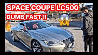 LEXUS LC500 REVIEW AND FIRST DRIVE ... SUPER CRAZY FAST!!
