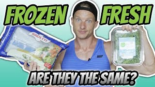 Canned vs Frozen vs Fresh Fruits and Vegetables (TASTE, COST, NUTRITION)